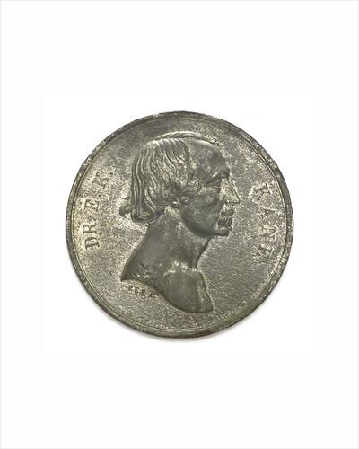 Medal commemorating Dr Elisha Kent Kane (1820-1857), Arctic explorer; obverse by F.C. Kay & Sons