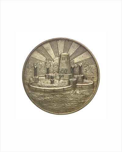 Medal commemorating the Bahia Blanca centenary, 1928; obverse by unknown