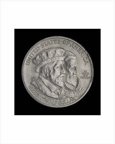 Coin commemorating the Huguenot-Walloon Tercentenary, 1924; obverse by unknown