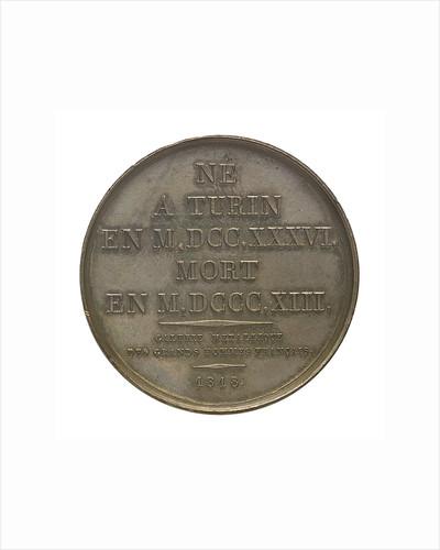 Commemorative medal depicting Joseph Louis La Grange (1735-1813); reverse by Donadio