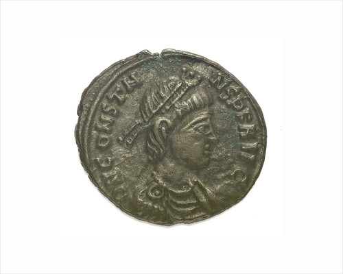 Classical coin - Nummus; obverse by Aquileia Mint