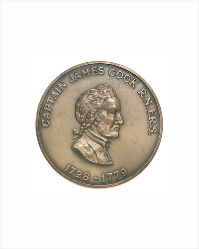 Medal commemorating Captain James Cook (1728-1779); obverse by Historic Medals