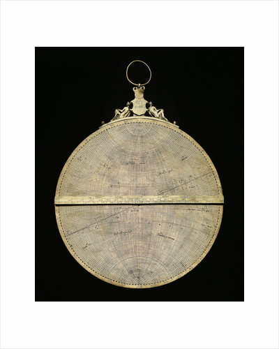 Astrolabe: mounted reverse by Adrian Descroli