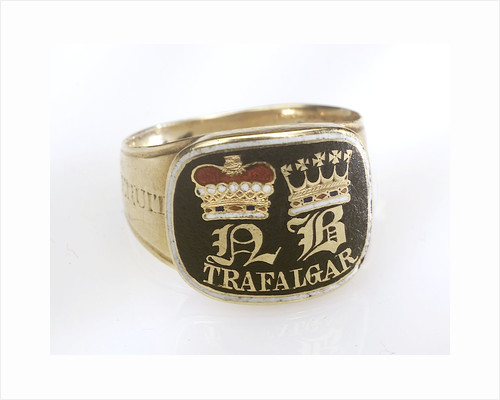 Gold mourning ring commemorating Vice-Admiral Horatio Nelson (1758-1805) by John Salter
