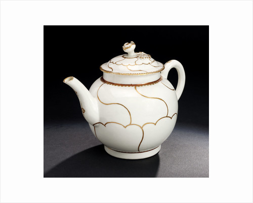 Teapot, part of a set reputedly belonging to Vice-Admiral Horatio Nelson (1758-1805) by John Wall