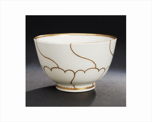 Bowl, part of a set reputedly belonging to Vice-Admiral Horatio Nelson (1758-1805) by John Wall