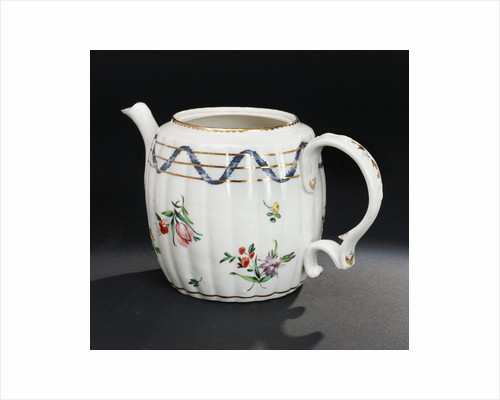 Teapot with lid and stand by Richard Champion