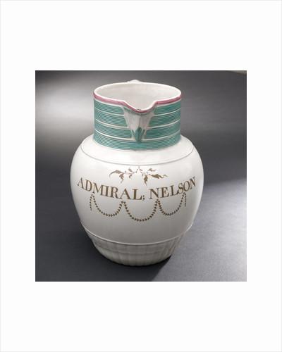 Earthenware jug by Wilson