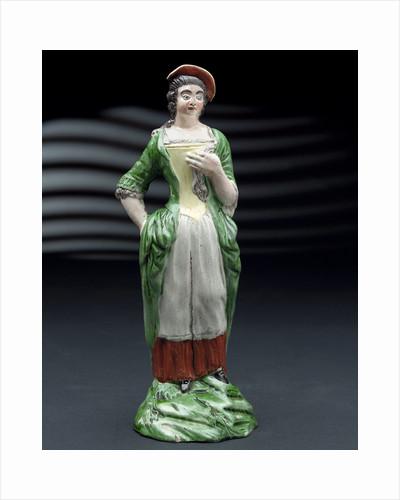 Earthenware figure of a lass by Ralph Wood