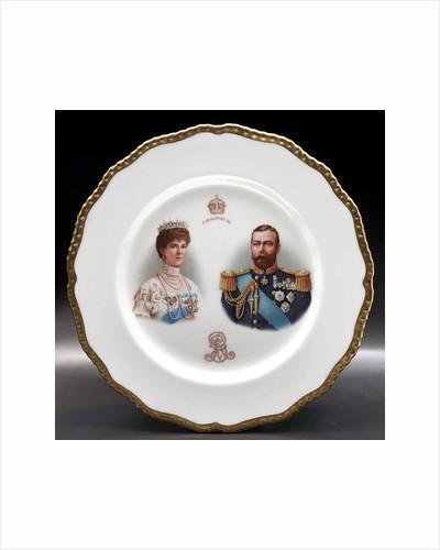 Porcelain plate by Doulton & Co. Ltd.