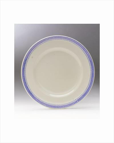 Earthenware plate by G.L. Ashworth & Bros Ltd.