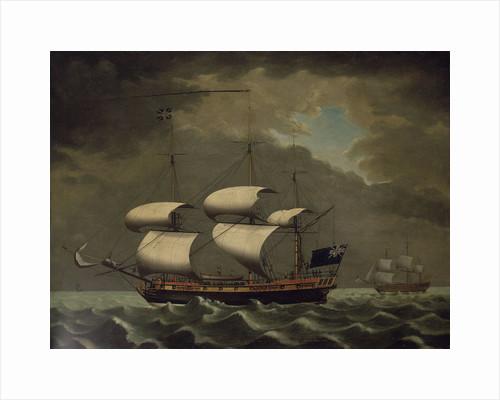 Slave ship by William Jackson