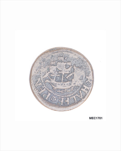 Cork halfpenny token by unknown