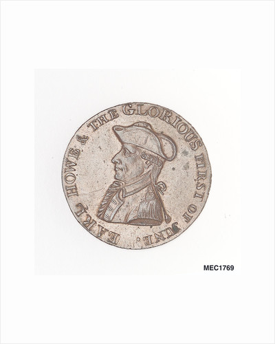 Montreal halfpenny token by unknown