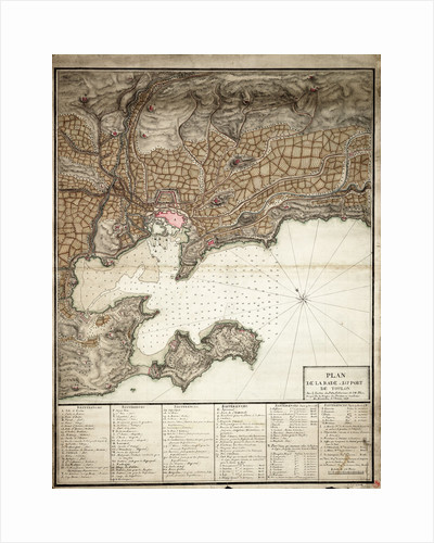 Plan of Toulon by Anonymous