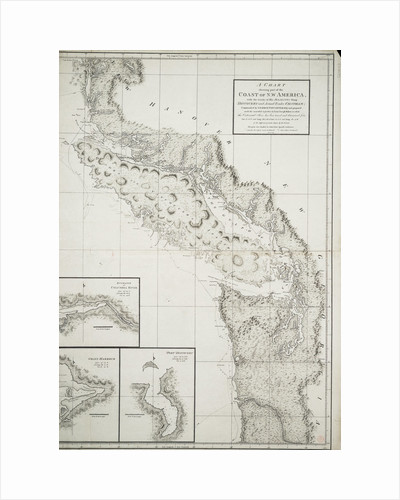 A chart showing part of the coast of north-west America by George Vancouver