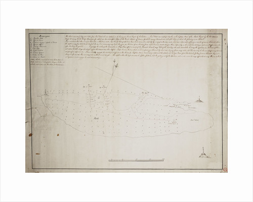 Chart of Alexandria by Anonymous