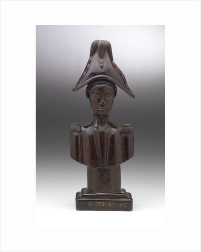 Bust of Jean-Jacques Dessalines by unknown