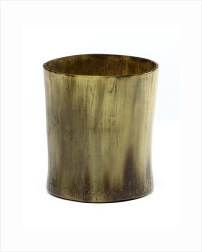 Horn beaker by unknown