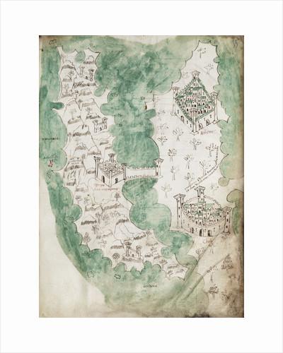 Euboea and Athens by Cristoforo Buondelmonti