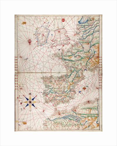 Atlantic coasts of Europe and west Mediterranean by Angelo de Conte Freducci