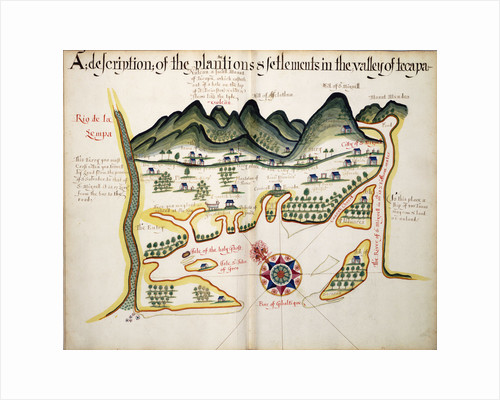 A description of the Plantations & Setlements in the Valley of Tepaca by William Hack