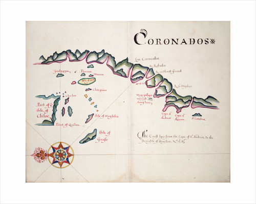 Coronadoes, South American Pacific coast by William Hack