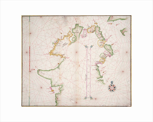Sea chart of the north coast of Ireland by unknown
