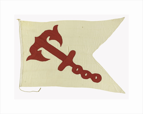 House flag, Anchor Line Ltd by unknown