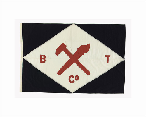House flag, Baltic Trading Co. Ltd by unknown
