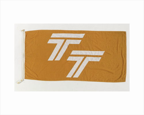 House flag, Townsend Thoresen Car Ferries Ltd by unknown
