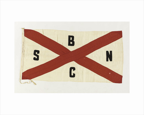 House flag, Bristol Steam Navigation Co. Ltd by unknown