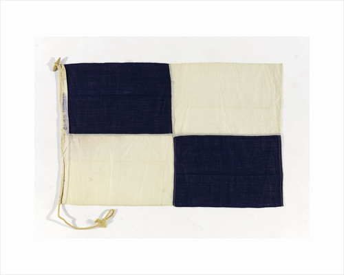 House flag, Cairn Line of Steamships Ltd by unknown