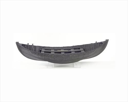 Full hull model, Greathead lifeboat, broadside by Henry Greathead