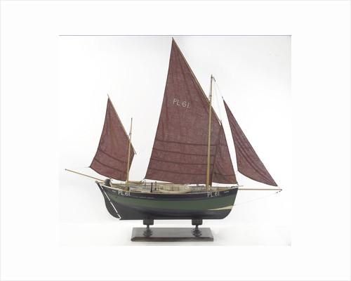 'Gladys', starboard broadside by Alistair Brown