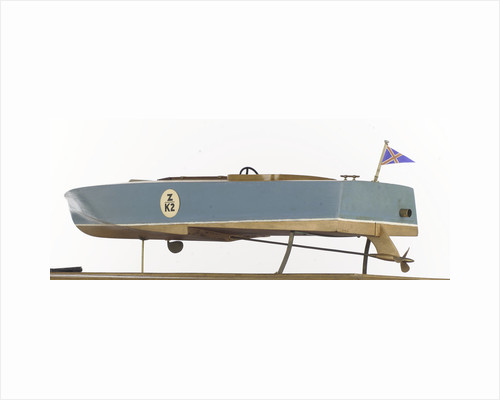 'Miss Betty', port stern quarter waterline by Camper & Nicholsons Ltd.