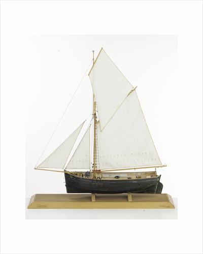 'Gwendoline', port broadside by John Roe
