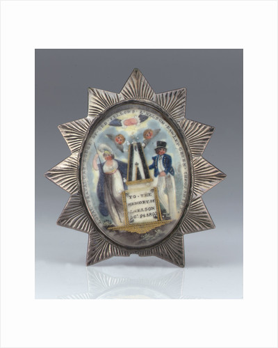 Masonic badge by unknown