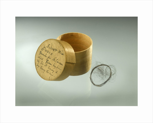 Pill box and wire by unknown