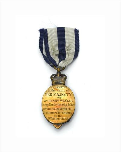 Albert Medal of the Second Class, reverse by Jemmett-Browne