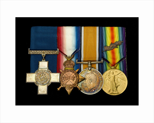 Medals awarded to Alfred William Newman RN (obverse, l to r, MED2034-2037) by Percy Metcalf