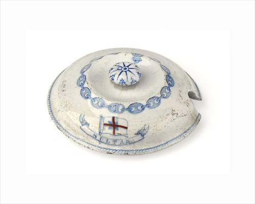 Tureen lid by F. F. Green & Co.