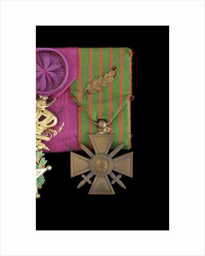 Croix de Guerre 1914-1918, obverse by unknown