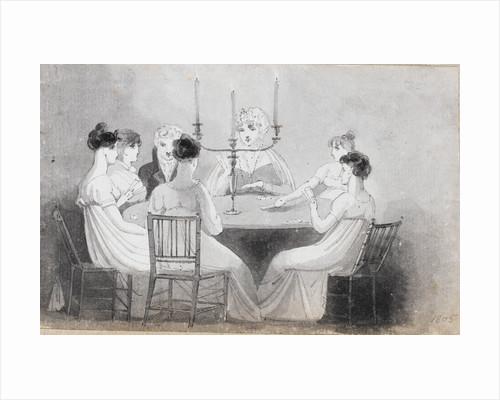 A card party at Merton Place by Thomas Baxter