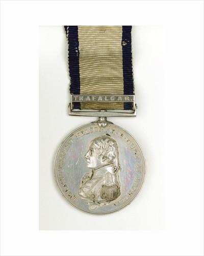 Boulton's Trafalgar Medal, obverse by Heinrich Kuchler