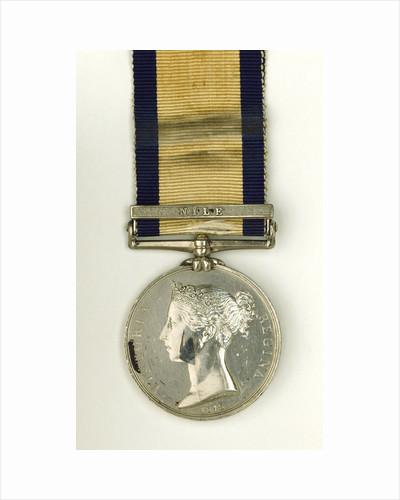Naval General Service Medal, 1793-1840, obverse by W. Wyon