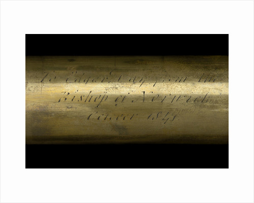 Pocket telescope - draw tube inscription by George Rossi