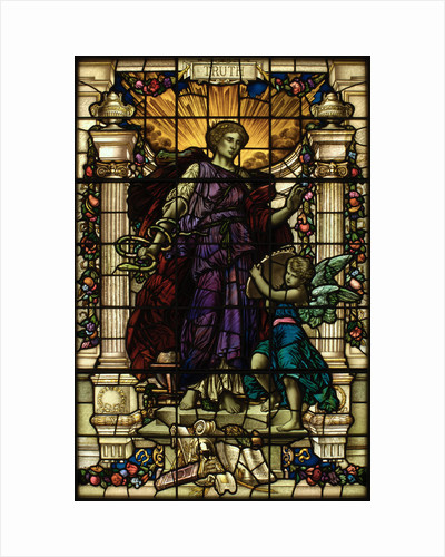 Baltic Exchange Glass, The Virtue Windows, Truth by John Dudley Forsyth