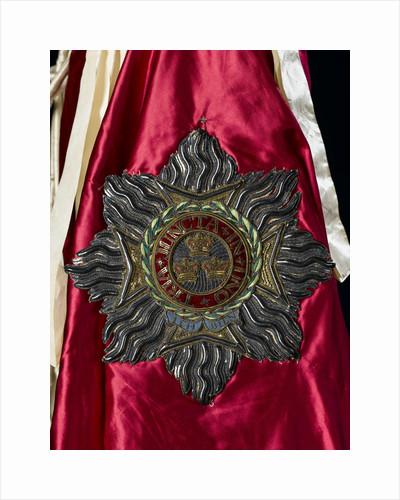 Robe of Order of the Bath - emblem by John Hunter