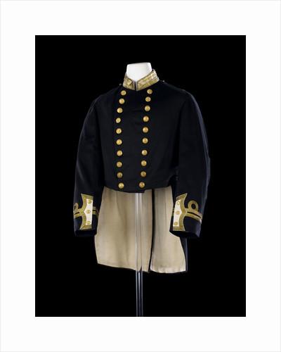 Full dress coat, Royal Naval uniform: possibly pattern 1856-1891 by Gillott & Hasell